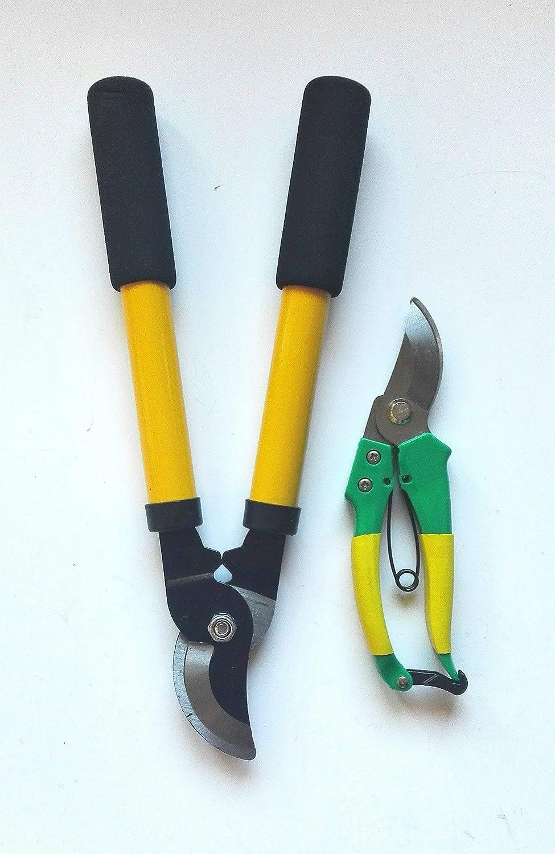 Of Secateurs Hand Pruner Set of 2 Professional Sharp Pruning Shears 2 Pieces Garden Shears