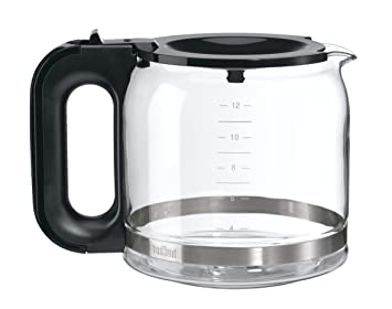 Braun BRSC005 Replacement Carafe for Braun Coffee Maker, Clear Glassware & Drinkware at amazon