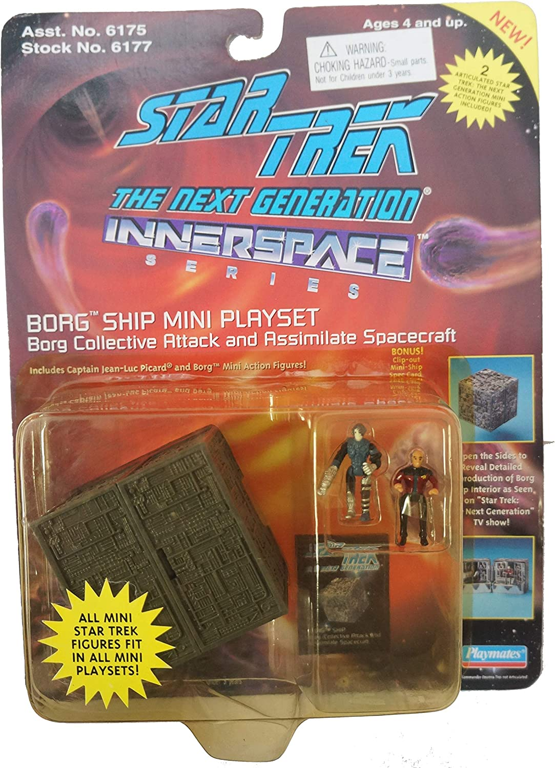 STAR TREK THE NEXT GENERATION INNERSPACE SERIES BORG COLLECTIVE ...