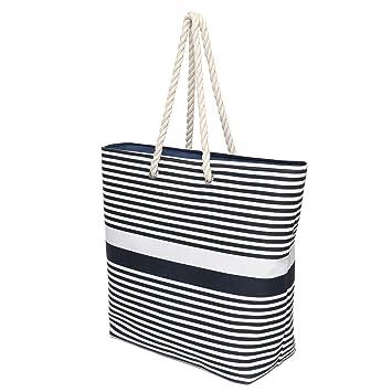 Amazon.com: Bolsa de playa de verano con asas de cuerda de ...