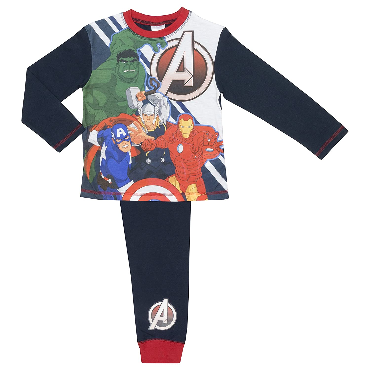 Cartoon Character Products Marvel Avengers Boys Pyjamas - Age 4-10 Years