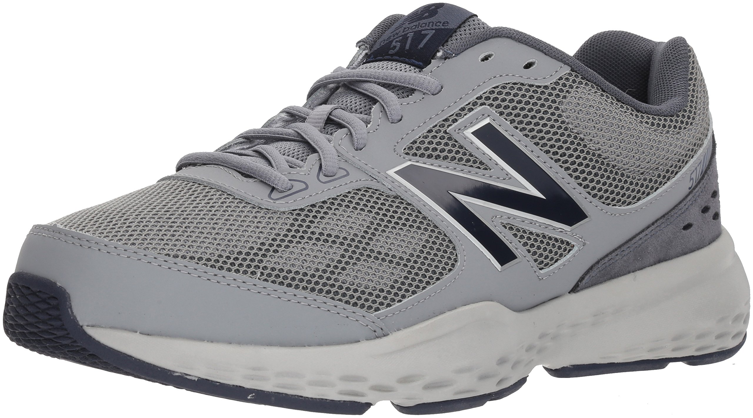 New Balance Men's MX517v1 Training Shoe, Grey/Navy, 11 4E US by New Balance