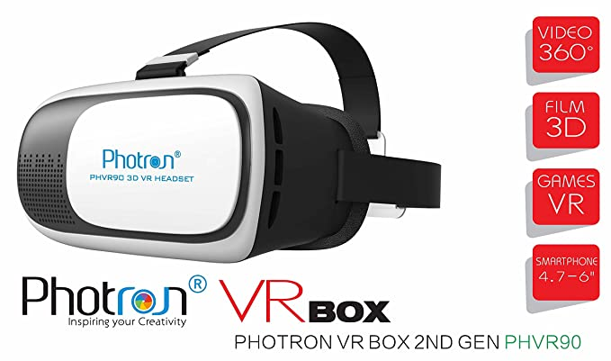 63b89f8a134b Photron VR BOX 2.0 Virtual Reality Glasses