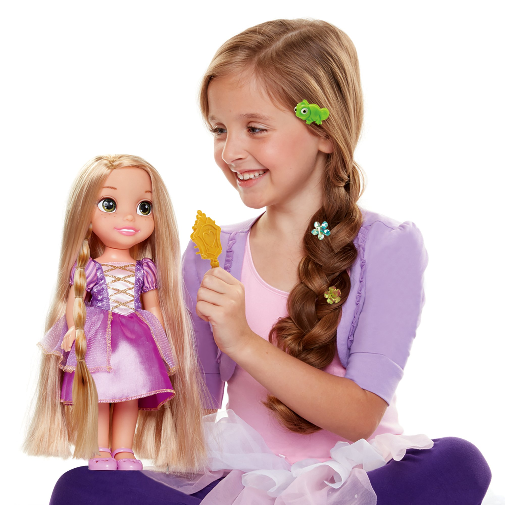 Disney Tangled Glow Style Rapunzel Toddler Doll