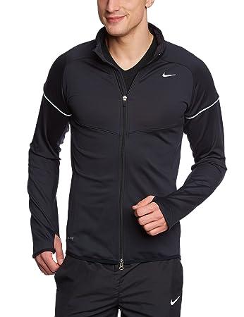 Nike Herren Sweatjacke Element Thermal Full Zip, blackblack