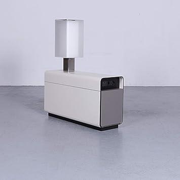 Sideboard Beige Grau Swiss Air Lounge Lampe Funktion Holz 3644