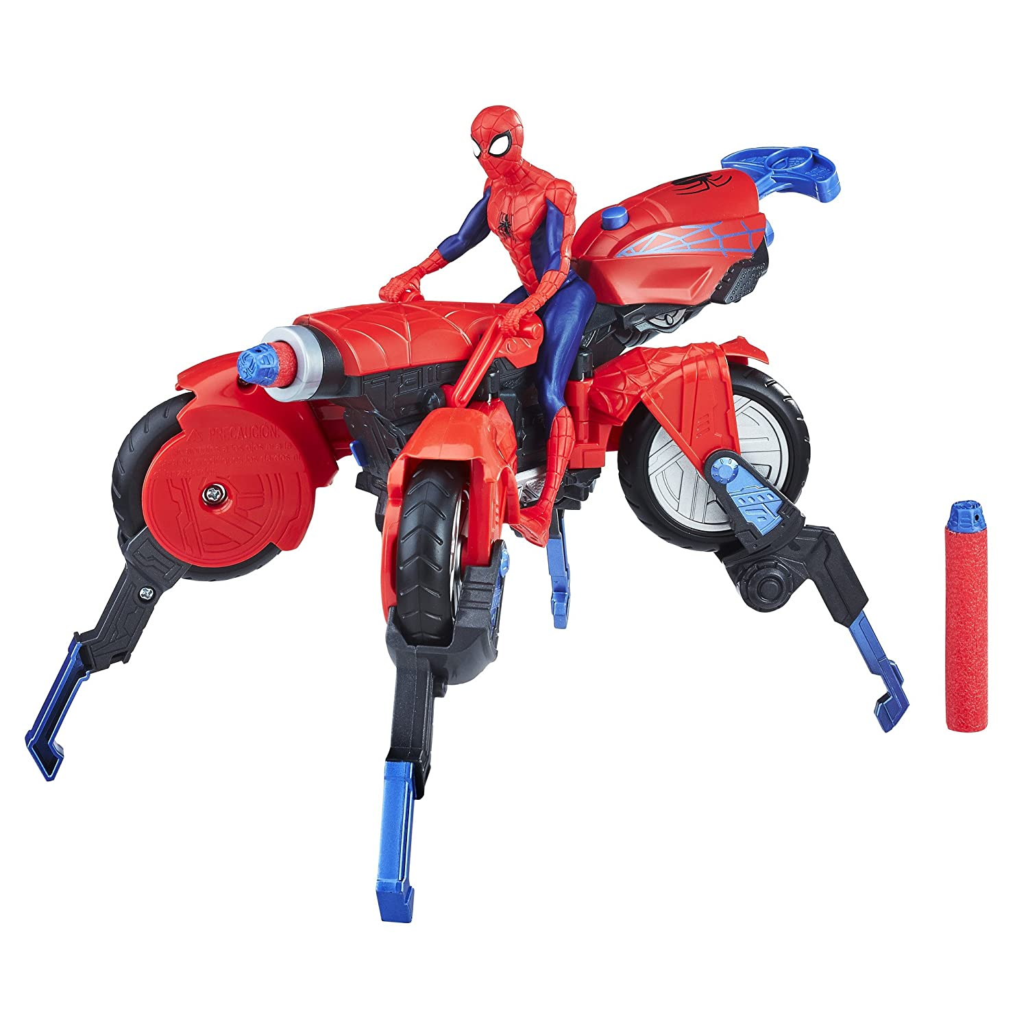 Marvel Spider-Man 3-in-1 Spider Cycle with Spider-Man Figure Hasbro E0593