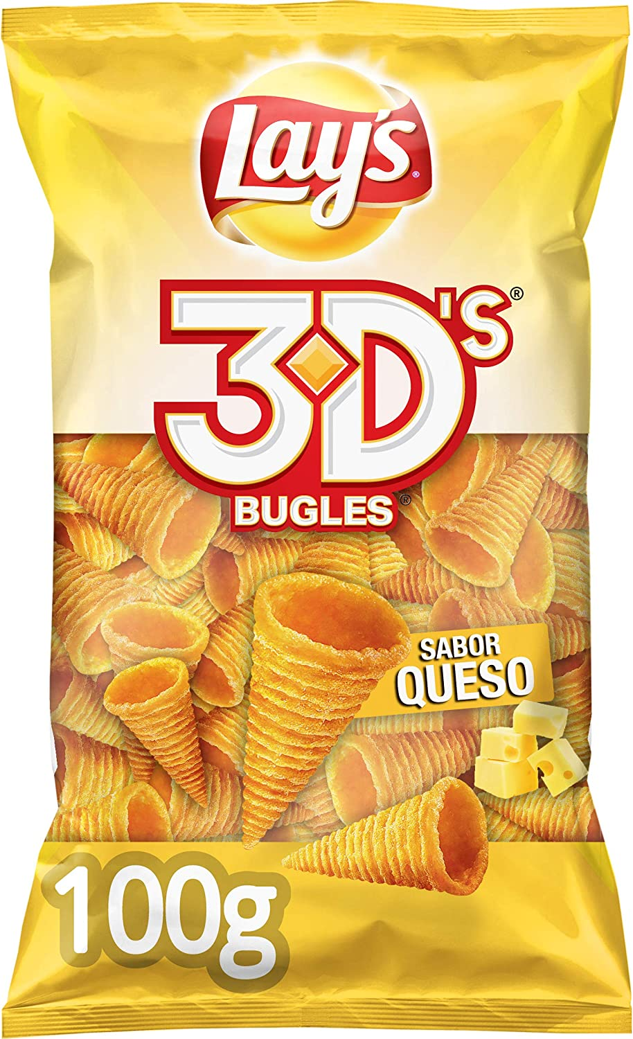 LayS Lay`S Bugles 3DS Queso, 100g