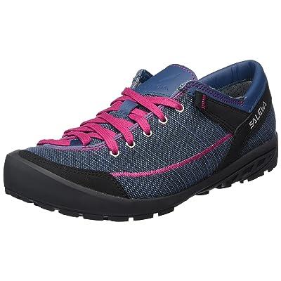 Salewa Women's Alpine Road Lifestyle Shoe, Washed Denim/Fuchsia, 7.5 M US