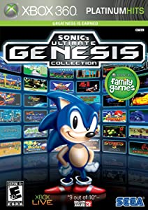 Sonic's Ultimate Genesis Collection (Platinum Hits) - Xbox 360