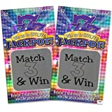 "Pregnancy Announcement Jackpot Scratch Off Pregnancy Reveal Fake Lottery Scratcher Lotto Replica Card, Ea Ticket Winner Revealing ""Winner! We're Expecting""! 5 tickets My Scratch Offs"