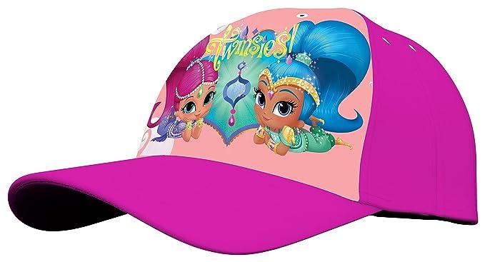Kids Shimmer&Shine, Gorra para Niñas, Rosa (Pink 005), One Size (
