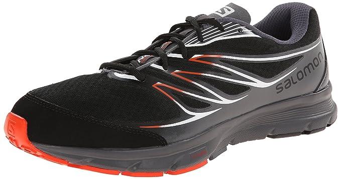Salomon Sense Link - Zapatillas para hombre, Black/Dark Cloud/Tomato Red, 47.3: Amazon.es: Zapatos y complementos