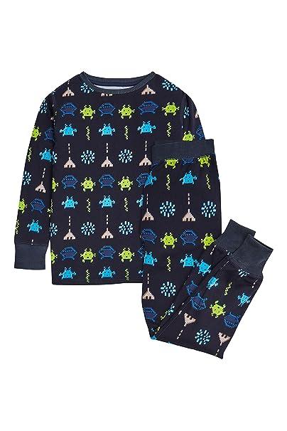 next Niños Pijama Abrigado Extraterrestres (2-12 Años) Corte Estándar 12 años
