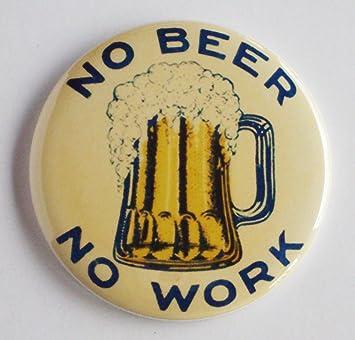 amazon co jp no beer no work 冷蔵庫マグネット2 25インチ