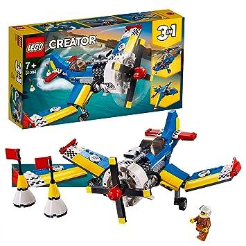 LEGO Creator - Avión de Carreras, juguete creativo de construcción ...