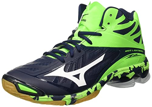 Mens Top Mizuno Volleyball Lace Mid Up Lightning Z2 Wave Shoes Mid L5AR43jq