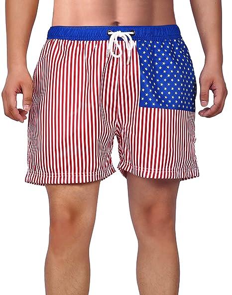 c2e49152f9b8a HDE Mens Quick Dry Swim Trunks Beach Shorts Bathing Suits Short Swimming  Trunks | Amazon.com
