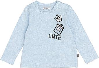 GULLIVER Camiseta de Manga Larga para Ni/ño Cuello Redondo