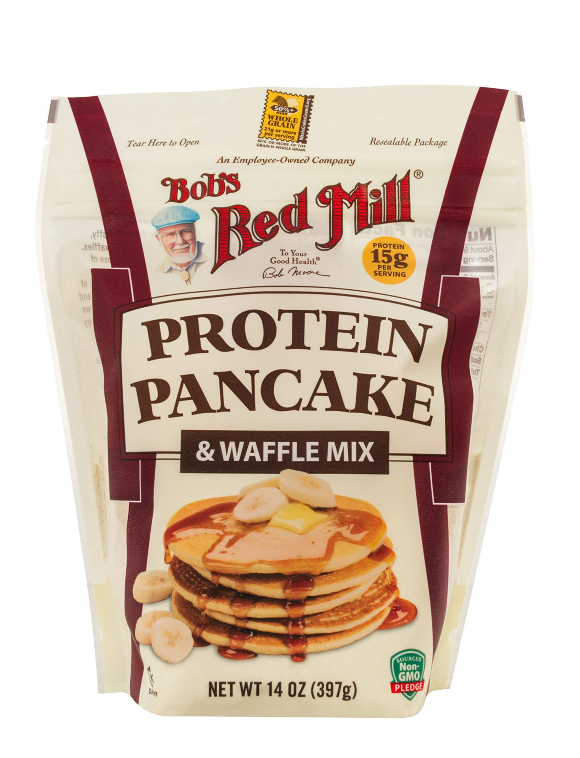 Bob's Red Mill Protein Pancake & Waffle Mix, 14-ounce