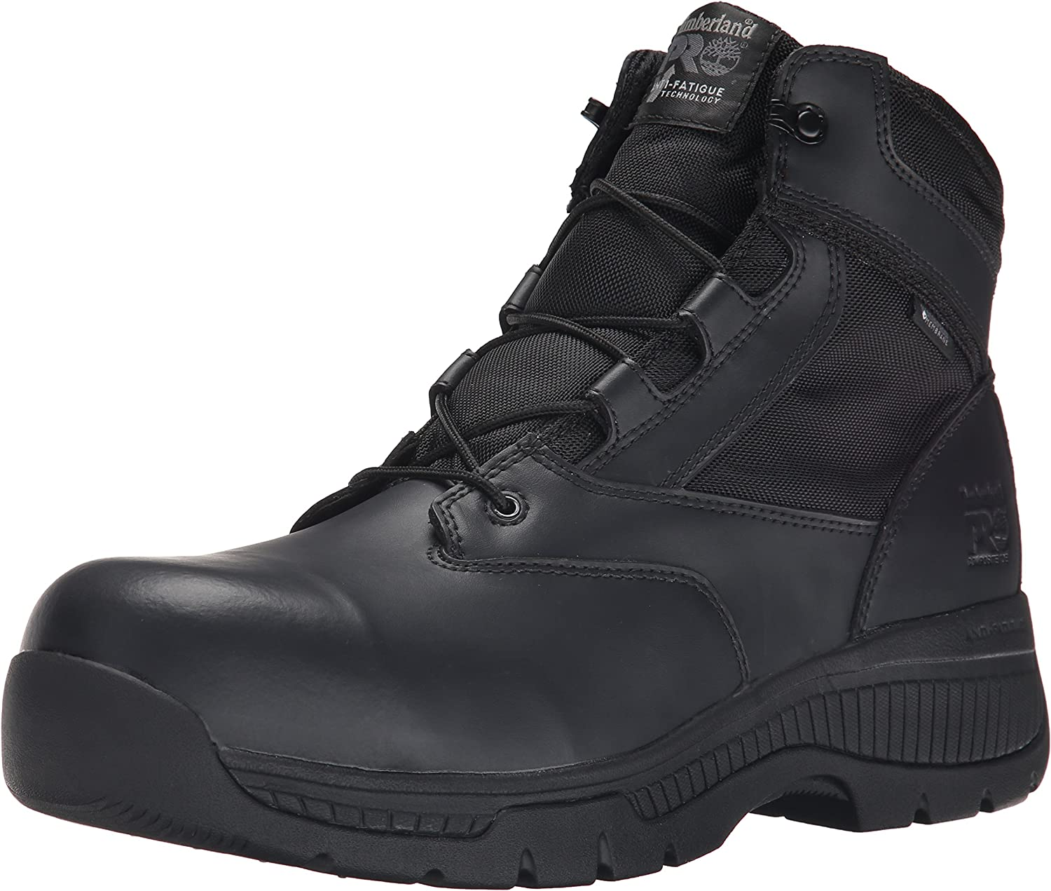 "Timberland PRO Men's 6"" Valor Comp Toe Waterproof Side Zip Work Boot"