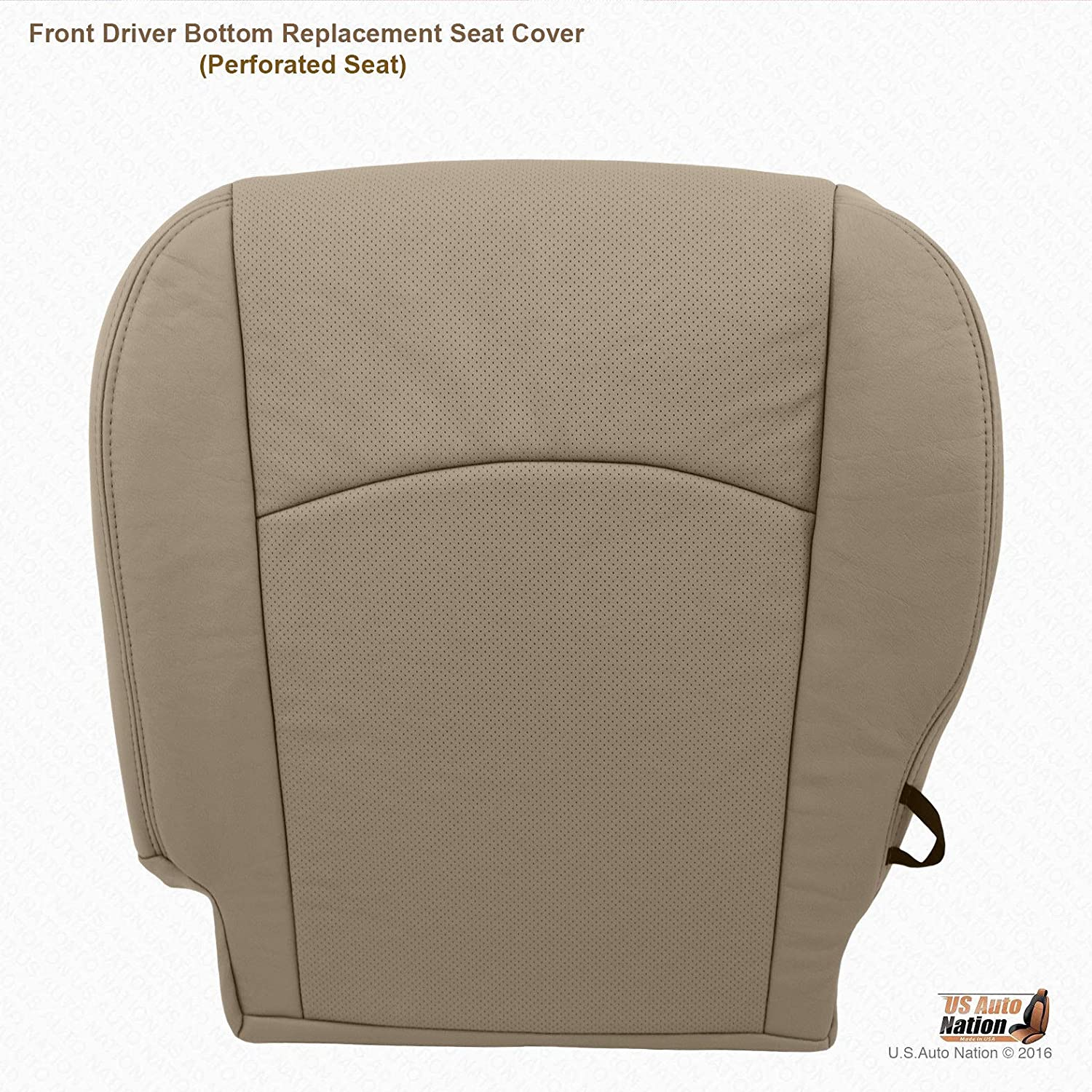 2011 Dodge Ram 3500 4500 Driver Bottom Replacement Synthetic Leather Seat Cover