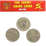 1965 Russia 1 Rouble Larger High Grade ,x end of WWII commemorative