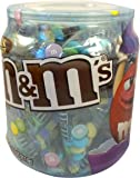 M&M's Milk Chocolate Candies - 40+ Individually Wrapped Easter Pastel Colored Candies - 11oz Plastic Container