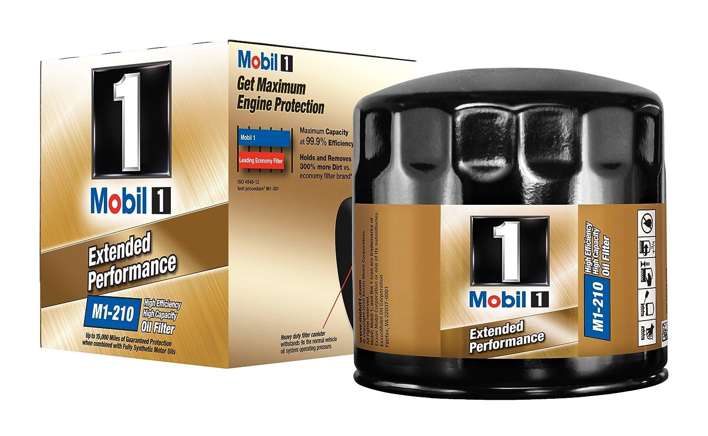 Mobil 1 M1 - 210 Extended rendimiento filtro de aceite: Amazon.es ...