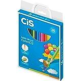 Lápis de Cor Redondo, CIS, ColorCiS, 260.7001, 36 Cores