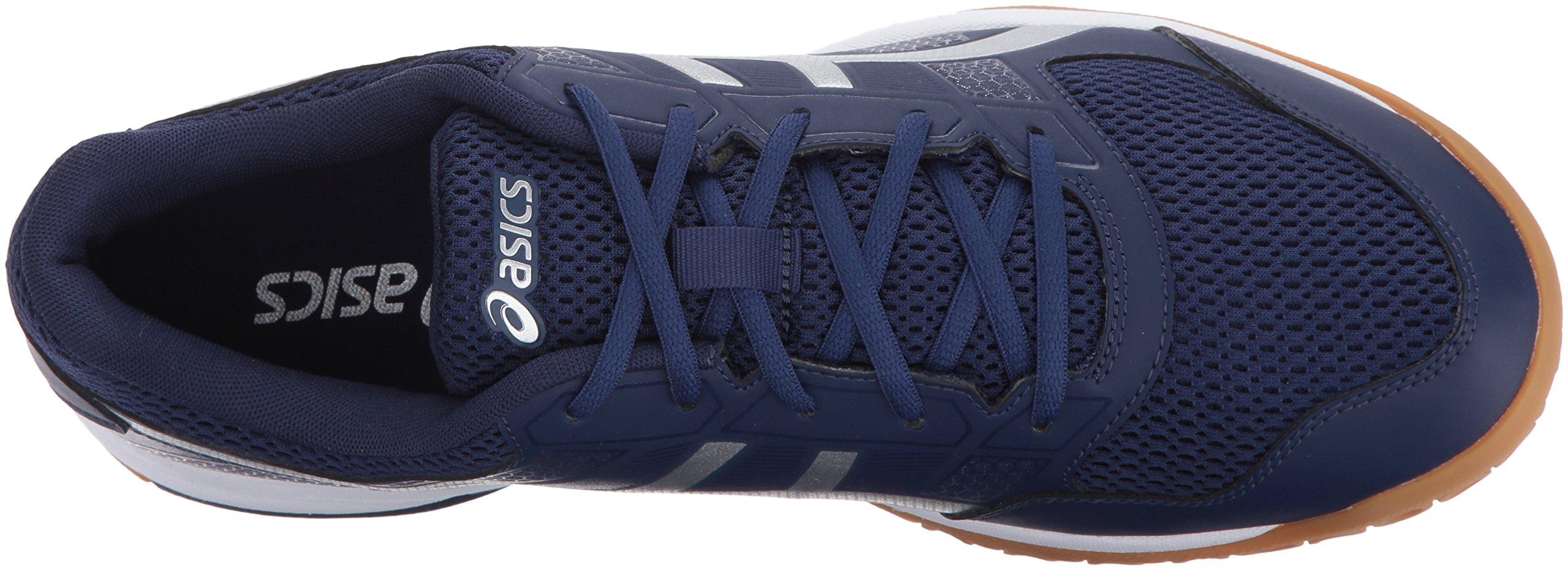ASICS blanc Chaussure de volleyball hommes, Gel Rocket ASICS 8 pour hommes, bleu indigo/ argent/ blanc 9dd5f3d - wisespend.website