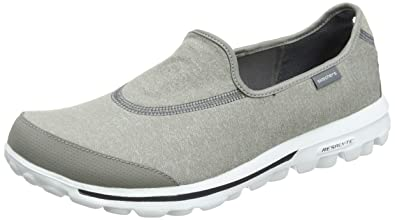 wholesale dealer 1fdaf 12cab Skechers Performance Women s Go Walk Slip-On Walking Shoes, Grey, ...