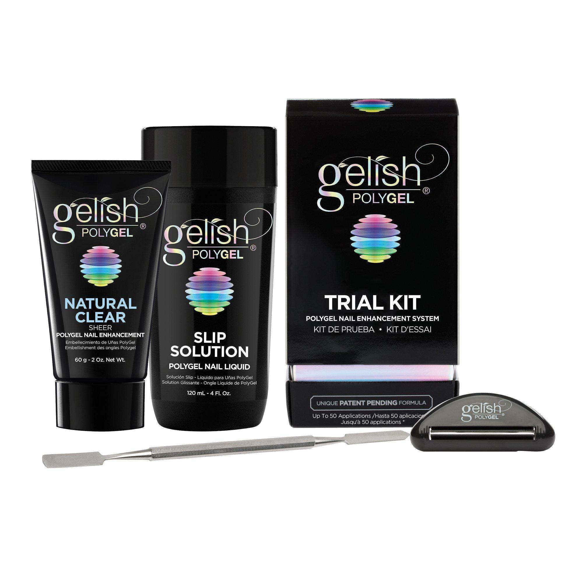 Amazon.com: enForten 100pcs Clear Dual Nail System Form UV Gel ...
