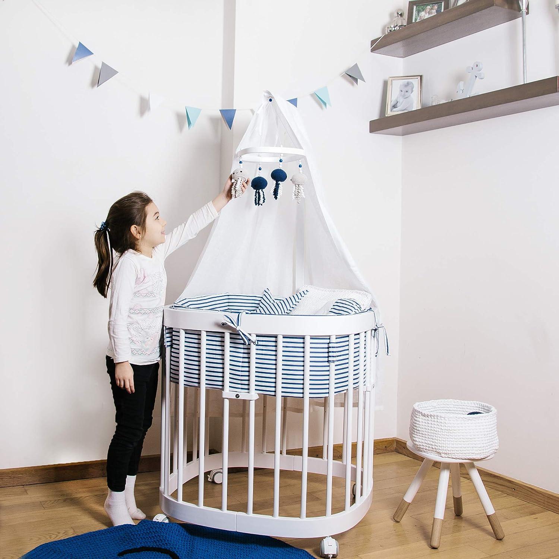Tweeto Babybett Kinderbett 7 In 1 Komplett Set