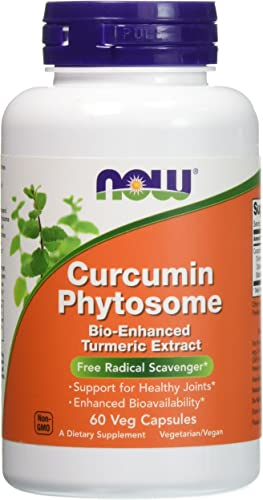 Now Foods Curcumin Phytosome – 60 Vcaps 3 Pack