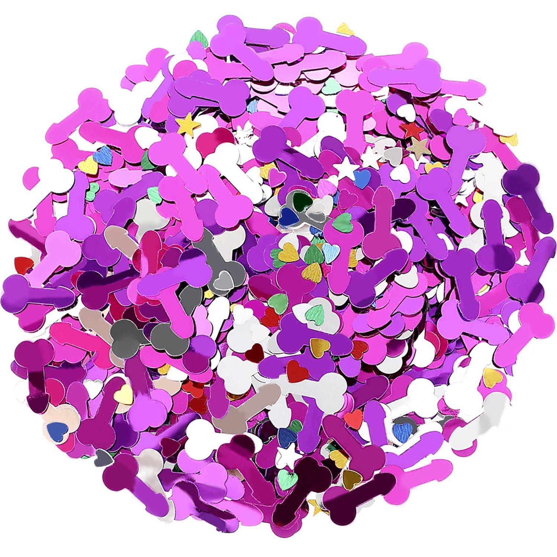 Hestya 30 g de Confeti de Mesa Lentejuelas de Fiesta de Noche de Gallina Decoraciones de Despedida de Soltera para Celebración de Fiesta: Amazon.es: ...