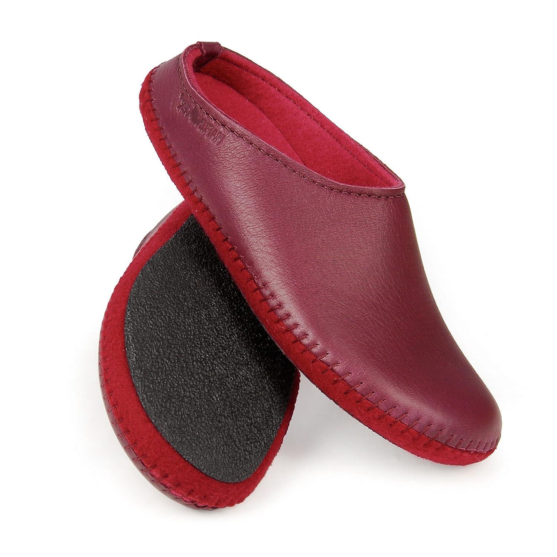 Elchleder-Damen-Pantoffeln, Gr. 41 - 41) (411502-209, Gr. 41) - - 82f305