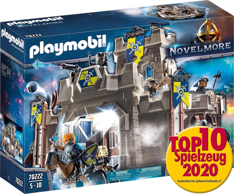 PLAYMOBIL Novelmore Fortaleza, Multicolor (70222): Amazon.es ...