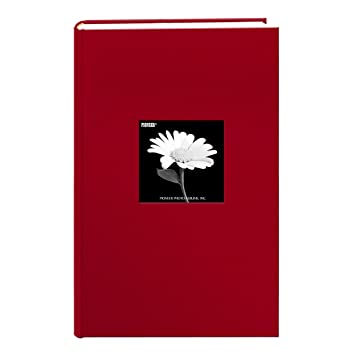 Amazoncom Fabric Frame Cover Photo Album 300 Pockets Hold 4x6