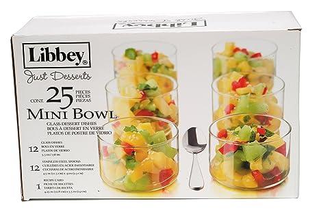 Just Desserts Mini Bowl 25-Piece Set