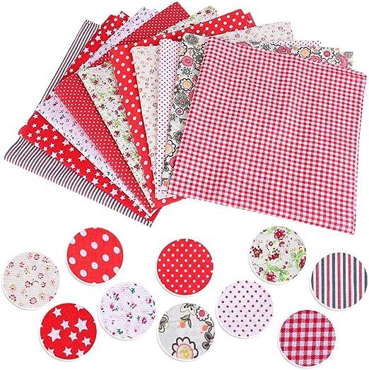Juego de 10 telas de algodón de Shujin, para coser, de patchwork ...