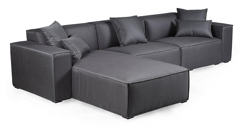 Amazon.com: kardiel Modus moderno Modular juego de sofá ...