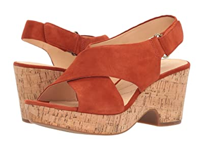 f0b2778fb21 Image Unavailable. Image not available for. Color  CLARKS Maritsa Lara  Womens Wedge Sandals ...