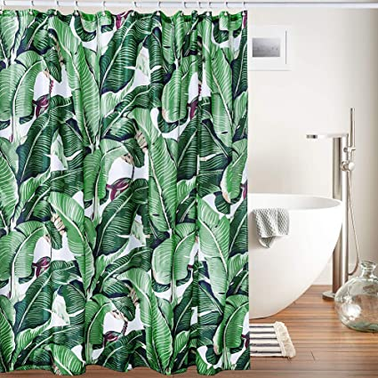 Creative Smart Shower Curtain 100 High Grade Polyester Material Amazing Exotic