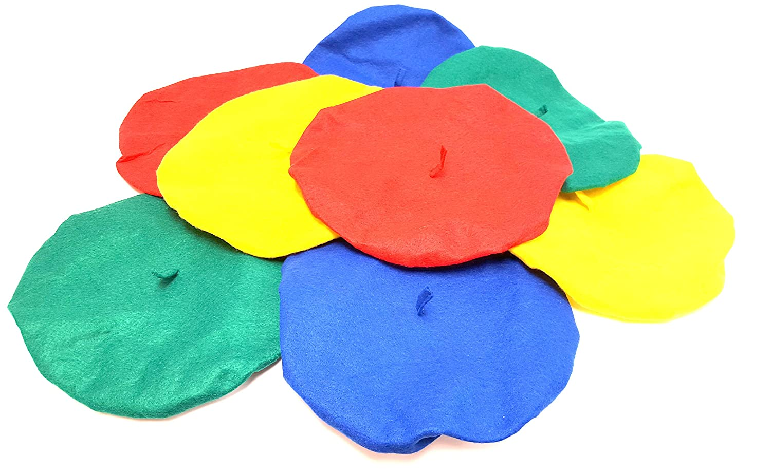 Felt Berets For Children and Teenagers (12 Pack) Dondor