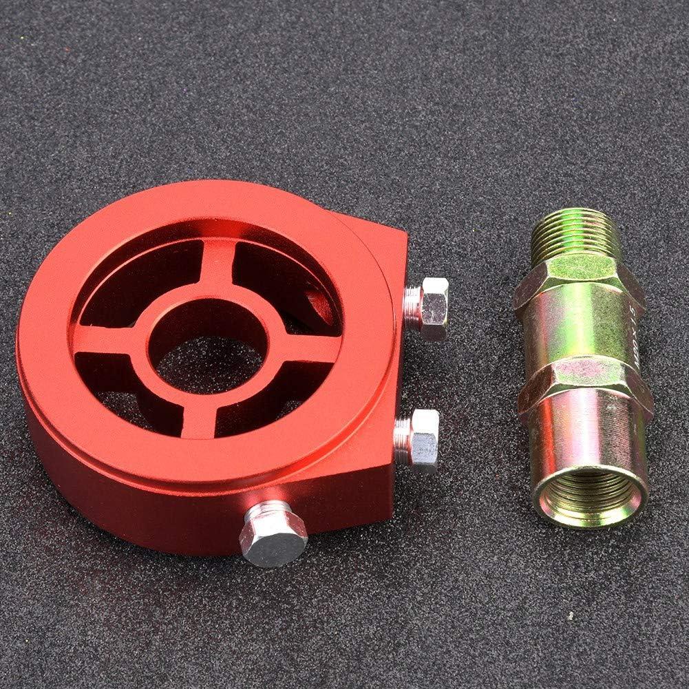 Kit universale per filtro olio in alluminio per refrigeratore Adattatore per filtro olio