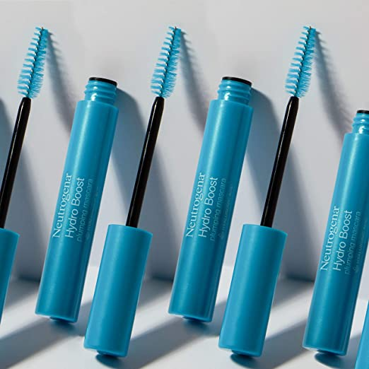 Neutrogena Hydro Boost Plumping Mascara Enriched with Hyaluronic Acid, Vitamin E, and Keratin, Black/Brown 03, .21 oz
