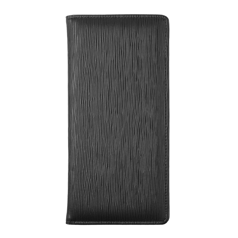 Beautyflier ブラック 4.5 x 9インチ ゲストサーバー ブックオーガナイザー サインパッドホルダー レストラン ウェイター ウェイトレス ウェイトスタッフ 磁気クリップつき マネーポケット付き   B07GB236P9