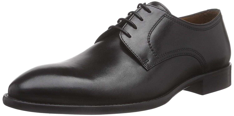TALLA 43 EU. Lottusse L6555-00501-01, Zapatos de Cordones Derby para Hombre