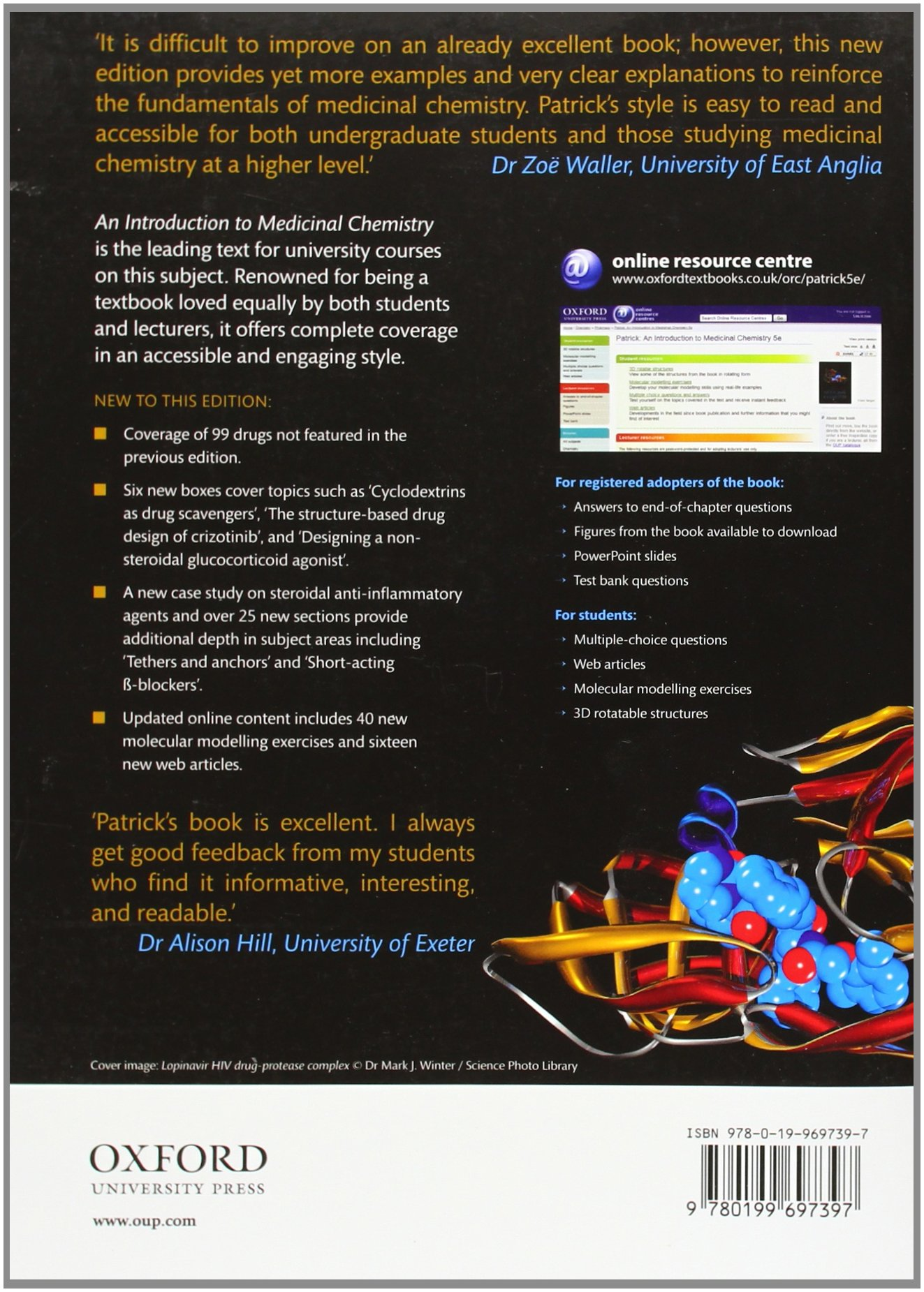 Buy An Introduction to Medicinal Chemistry Book Online at Low Prices